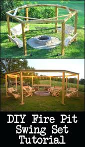 articles with swing fire pit tag surprising swing and fire pit