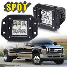 f250 led light bar 2pcs 4 front bumper flush mount led light bar for ford ranger f150
