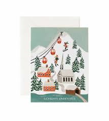 christmas postcards rifle paper co