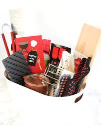 Bbq Gift Basket 32 Homemade Gift Basket Ideas For Men With Regard To New House