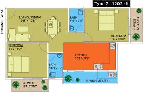 1202 sq ft 2 bhk 2t apartment for sale in naksha hyde park kengeri