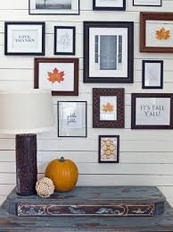 Wall Picture Ideas by 14 Diy Fall Decorating Ideas Hgtv U0027s Decorating U0026 Design Blog Hgtv