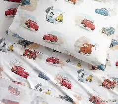 disney cars bedding set disney pixar cars sheet set pottery barn kids