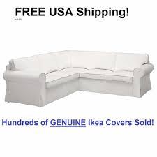 Ektorp Corner Sofa Bed by Details About Ikea Ektorp 4 Seat Corner Sectional Sofa Slipcover