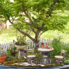 Diy Fairy Garden Ideas by Best Diy Fairy Garden Furniture 71 For Your Home Decorating Ideas