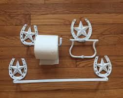 Texas Star Bathroom Accessories by Bath Towel Holder Etsy