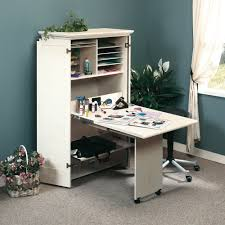 Sauder Armoire Computer Desk Harbor View Craft Armoire 158097 Sauder