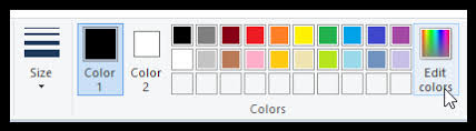 ms paint editing colors grok knowledge base