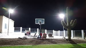 basketball court lighting dark sky compliant backyard sports in