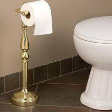 ridgefield standing tissue holder bathroom