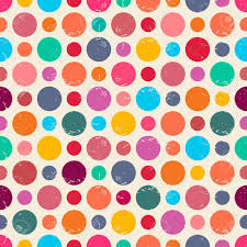 decorative paper seamless pattern with grunge dots can be used to fabric design