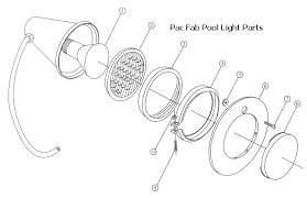 can light replacement parts lighting replacement parts for pac fab pentair pool lights