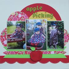 maps fall challenge 26 best scrapbookin apple picking images on