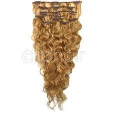 goldie locks clip in hair extensions mix 27 613 22 inch wavy set clip in hair