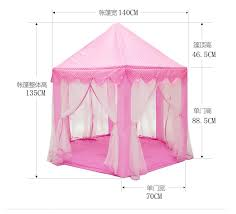 new upgrades six korean angle princess castle gauze tent house