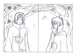 itachi and sasuke uchiha sketch by pink gizzy on deviantart