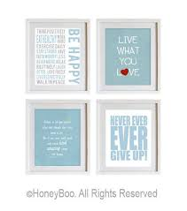 light blue wall art los angeles gastronomy map a3 by lucylovesthis on etsy 25 00