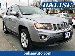 jeep crossover 2015 used 2015 jeep compass high altitude edition suv west warwick ri