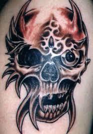 skull tribal tattoos gallery