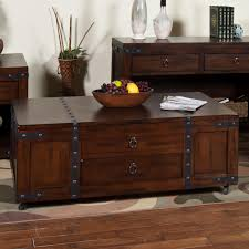 Coffee Tables With Drawers by Coffee Table W Lift Top Drawer U0026 Casters By Sunny Designs