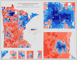 Map Of Minnesota Cities 5 Minnesota Maps To Help You Make Sense Of Things Before Election