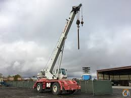 2007 link belt rtc8050 rough terrain crane for sale on