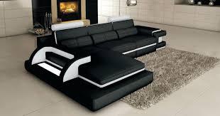 canape angle 8 places canape grand canape d angle 8 places canapac cuir noir et blanc