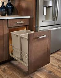 Kitchen Cabinet Garbage Drawer Kitchen Design Idea Hide Pull Out Trash Bins In Your Cabinetry