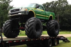 video monster truck accident nitto trail grappler side view mudder trucks pinterest