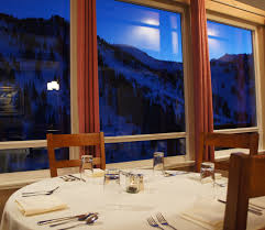 Alta Table A by Alta Dining Snowpine Lodge Dining Room Discover Alta
