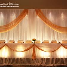 wedding backdrop gold wedding reception decoration ideas gold gallery wedding dress