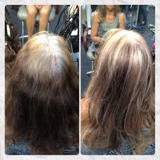 how to grow in gray hair with highlights too young to be so grey blended for a low maintenance grow out