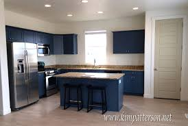 kitchen style granite countertop blue cabinets kitchen colors
