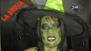 la bruja tutorial de maquillaje halloween youtube
