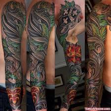 sleeve flowers and family crest for viewer com