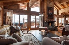 chalet style 35 chalet living room designs digsdigs