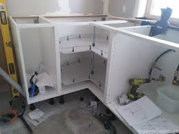 amazing installing ikea base cabinets ikea kitchen part 2 extract - lovable plywood base cabinets and basement reshaping our footprint