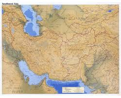 Southwest Asia And North Africa Map Maps Of Southwest Asia Southwest Asia Maps Collection Of