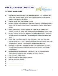 bridal shower registry checklist bridal shower checklist domosens tk