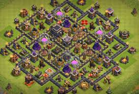 Coc Maps 9 Best Coc Town Hall Th9 Defense Bases 2017 Bomb Tower Cocbases