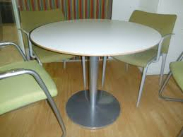 Circular Meeting Table Used White Circular Meeting Table Lam Office Furniture