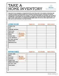 Inventory Sign Out Sheet Template Moving Guide Printable Home Inventory Checklist Organizations