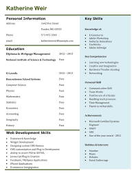 Best Resume Format For Engineers Pdf by Cv Format Freshers Pdf Free Download