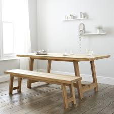 solid oak dining table 6 8 seater tables furniture home