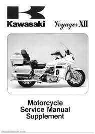 1987 2003 kawasaki zg1200 voyager motorcycle service manual supplement