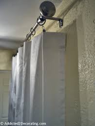 Curtain Hanging Hardware Decorating How To Hang Draperies And Curtains Like A Designer Hang Curtains