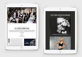 design magazine site w magazine akane kodani