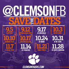 2014 thanksgiving football schedule 2015 schedule announced clemson tigers official athletics site