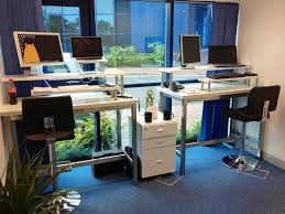 Diy Standup Desk Stand Up Desks Our Diy Solution How It Could Change Your