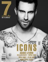 see it adam levine strips for magazine shoot ny daily